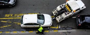Amende pour stationnement gênant :