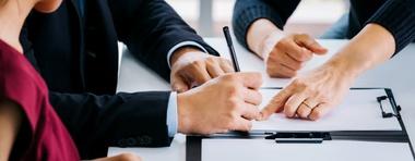 Divorcer par notaire ou avocat :