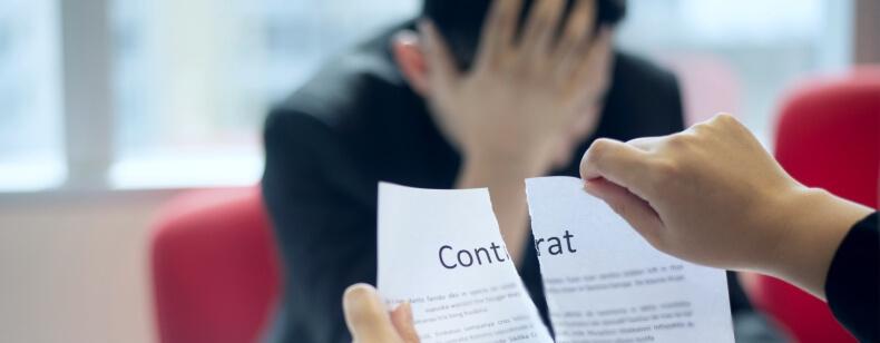 Rupture d'un contrat de professionnalisation :