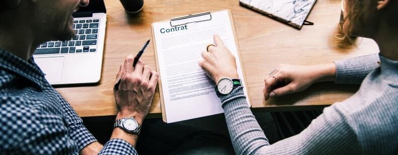 Contrat de travail :