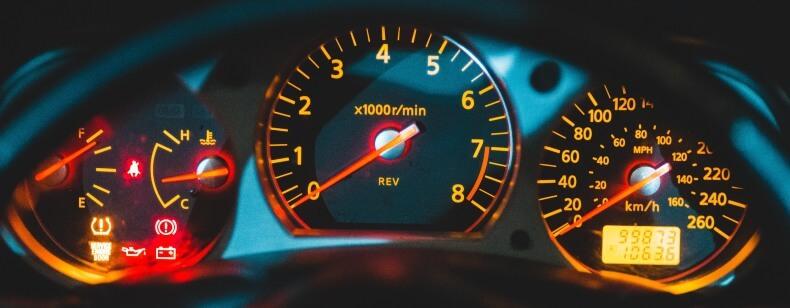 Compteur kilométrique trafiqué :