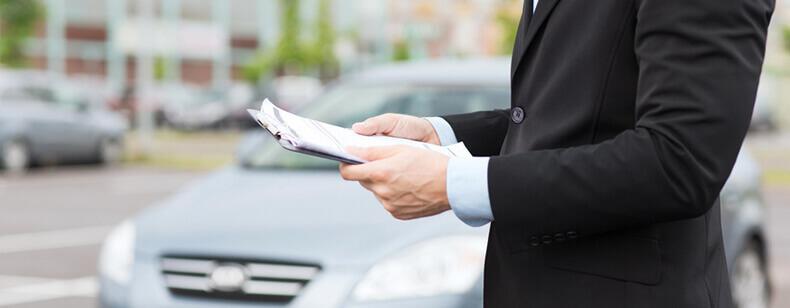 Location de voiture et dépôt de garantie :
