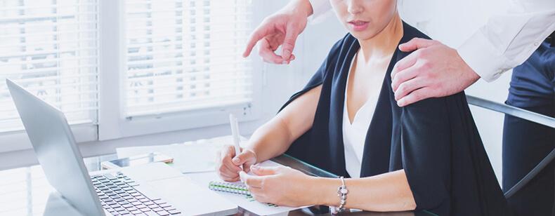 Harcèlement sexuel au travail :