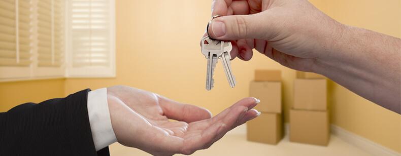 Remise des clés en fin de bail