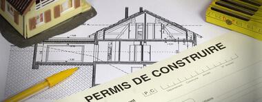 Constat d'affichage d'un permis de construire