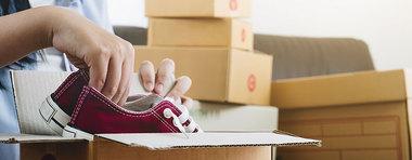 Site e-commerce, produit cassé ou non conforme