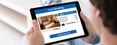 Hôtel réservé sur Booking.com :